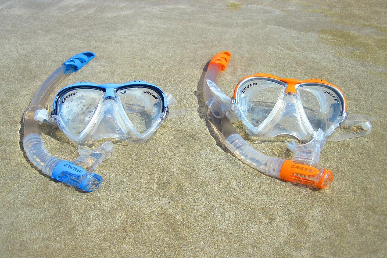 Cressi snorkel masks