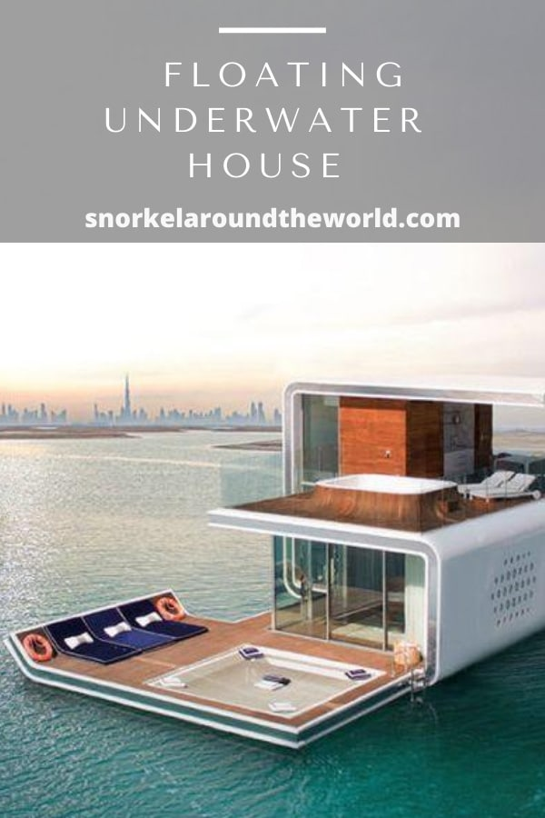 Dubai floating house
