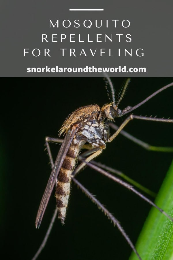 Mosquito repellents for traveling
