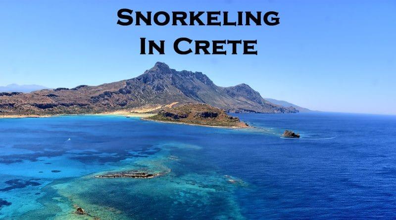 Snorkeling in Crete