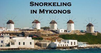 Snorkeling in Mykonos