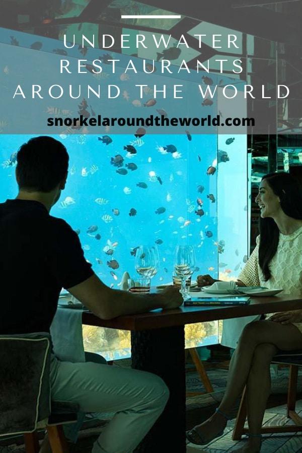underwater restaurants around the world