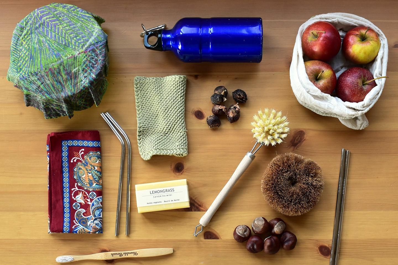 Zero-waste life essentail items