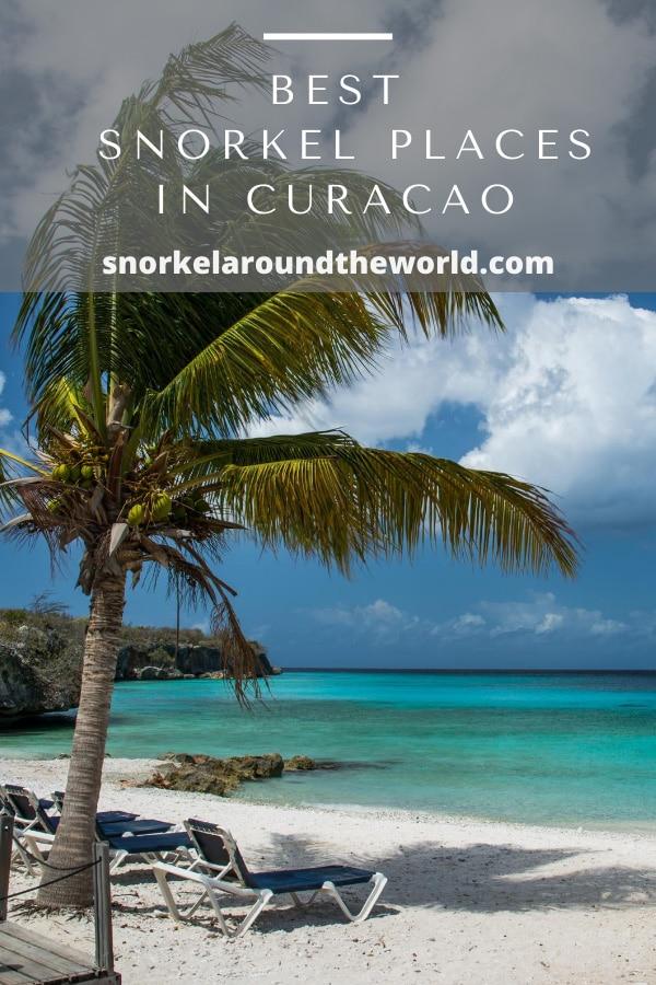Snorkel beach in Curacao