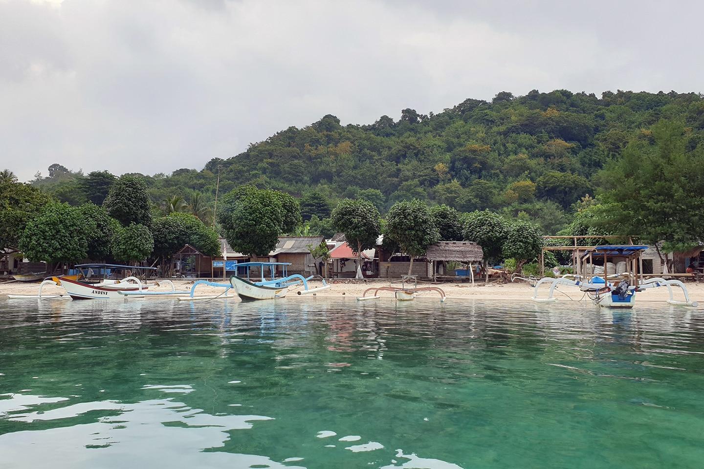 Gili Asahan fishing village