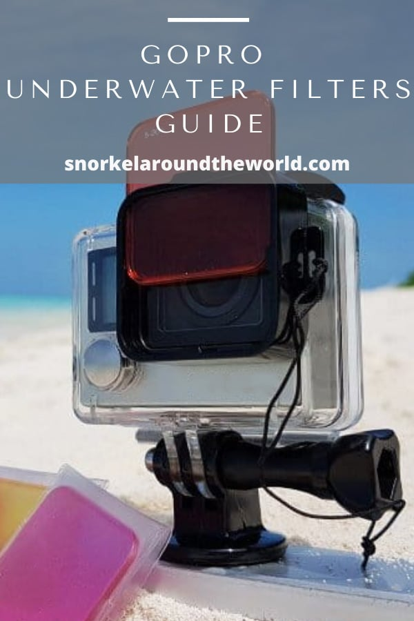 underwater camera filters for Gopro