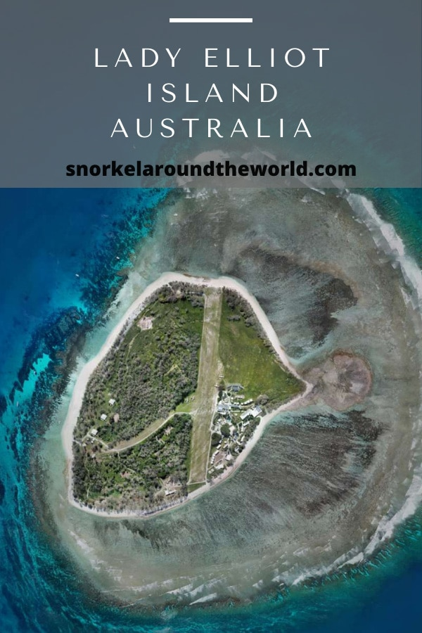 Australia Lady Elliot Island from above