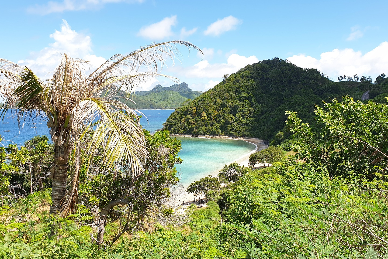 Hidden beach in Lombok