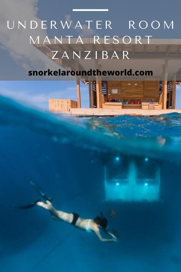 Underwater room Zanzibar