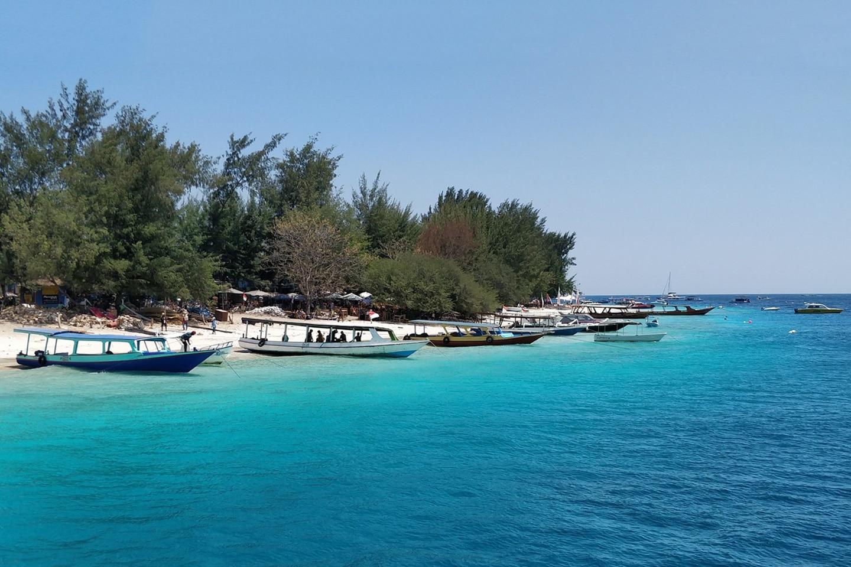 Gili Islands in summer