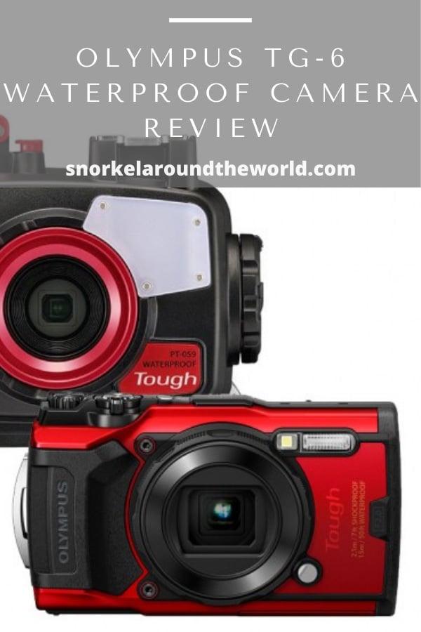 Olympus Tg6 waterproof camera for snorkeling