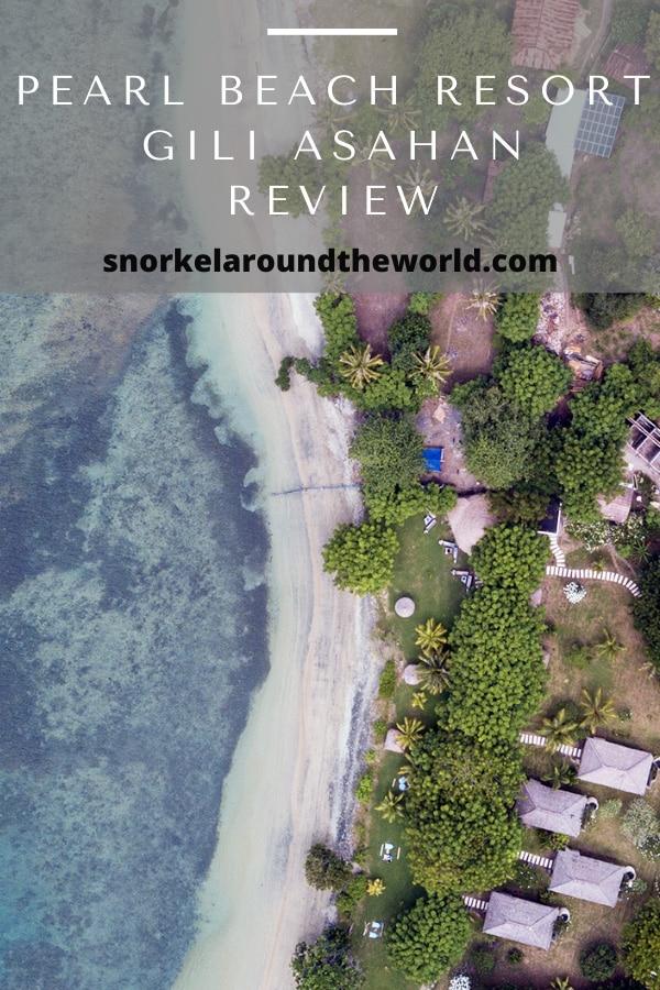 Pearl Beach Gili Asahan Island Lombok
