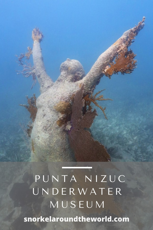 Punta Nizuc underwater Museum statue