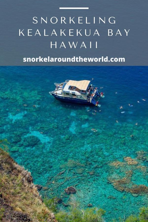 Kealakekua Bay snorkel tour