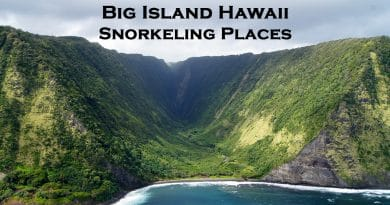 Snorkeling places big island Hawaii