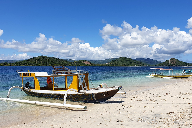 Beach in Lombok