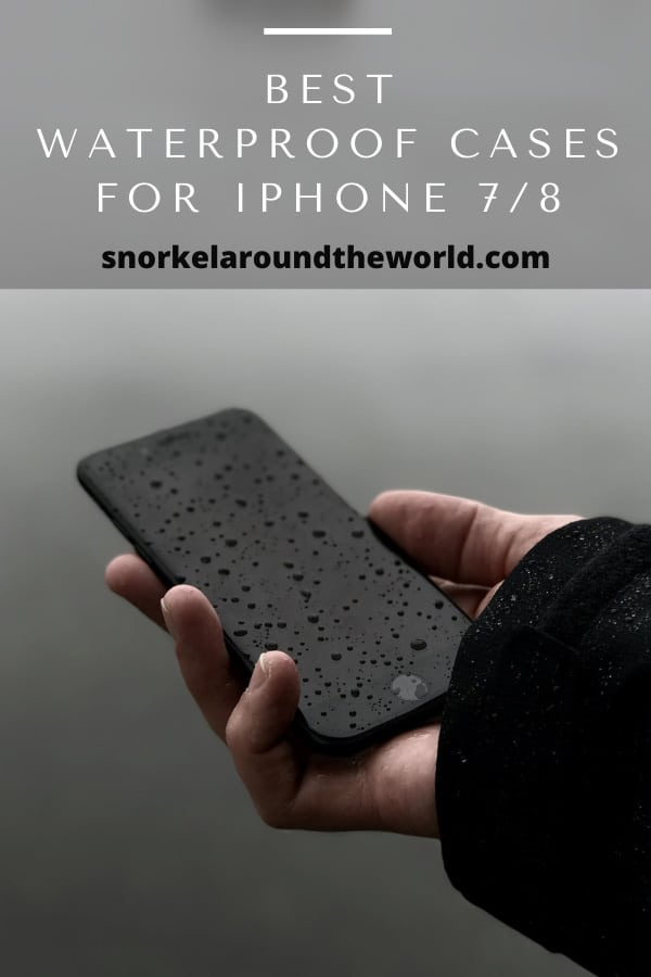 iPhone 7 with waterdrops