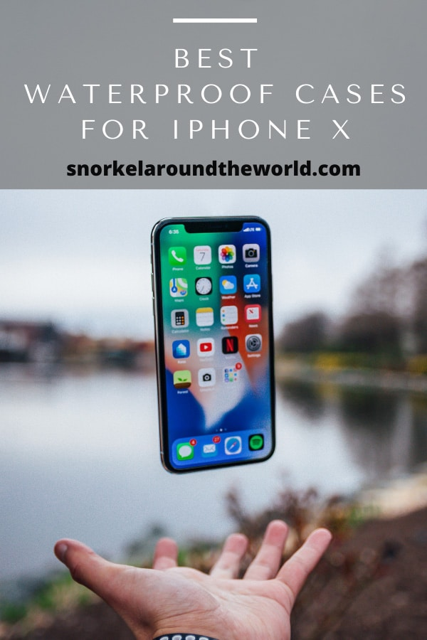 Waterproof cases for iPhone X, XR and XS models