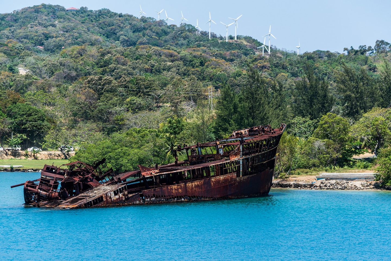 Shipwreck Mahogany Beach