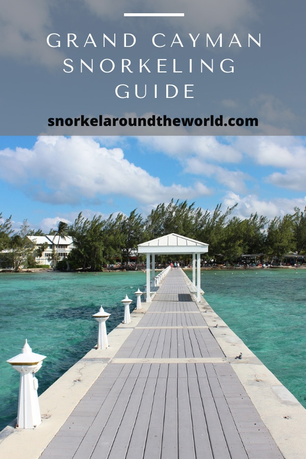 Grand Cayman snorkel spots pin