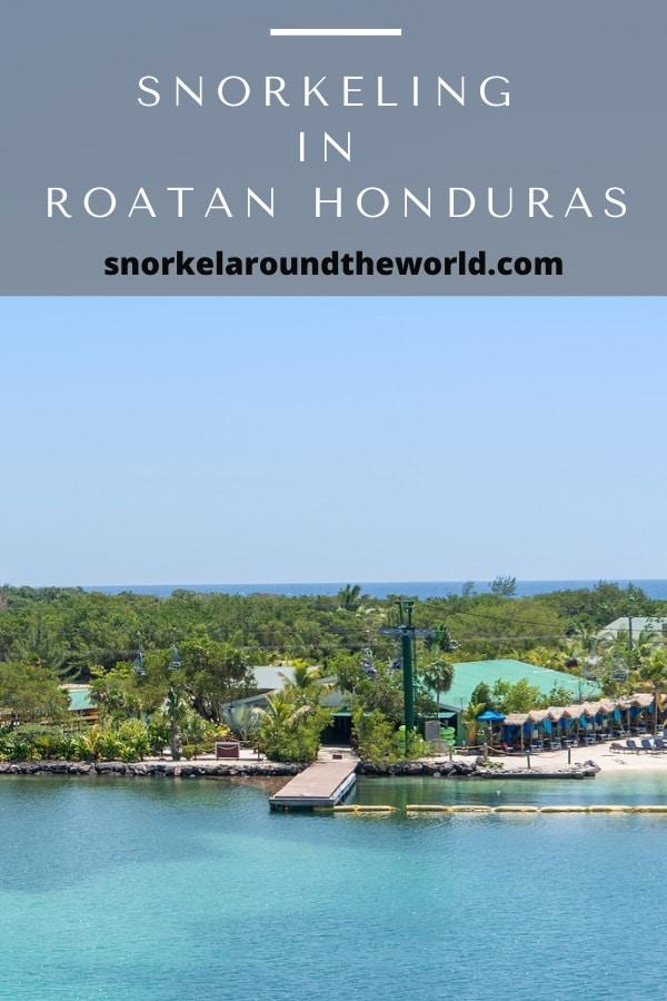 Roatan snorkeling spots