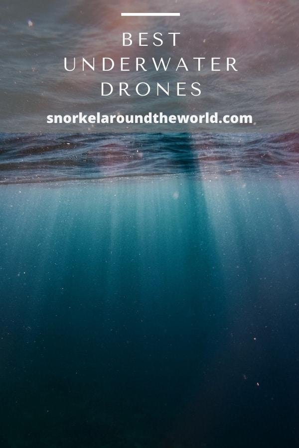 best drones for underwater