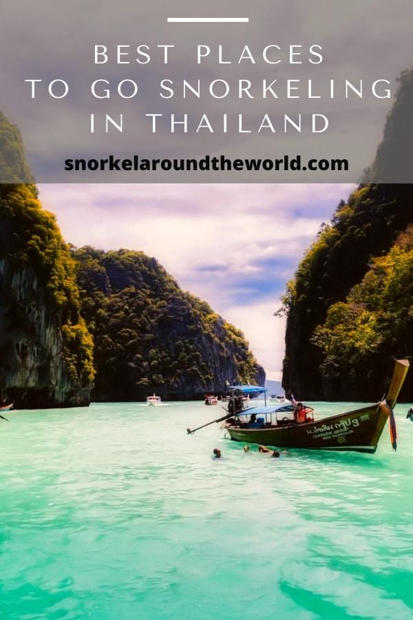 Thailand snorkel spots