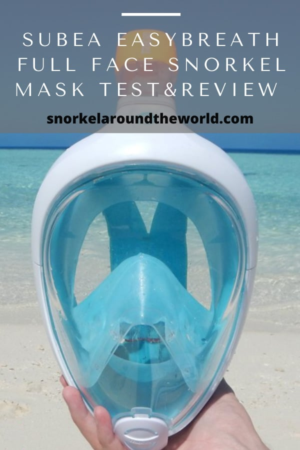 easybreath full face snorkeling mask review