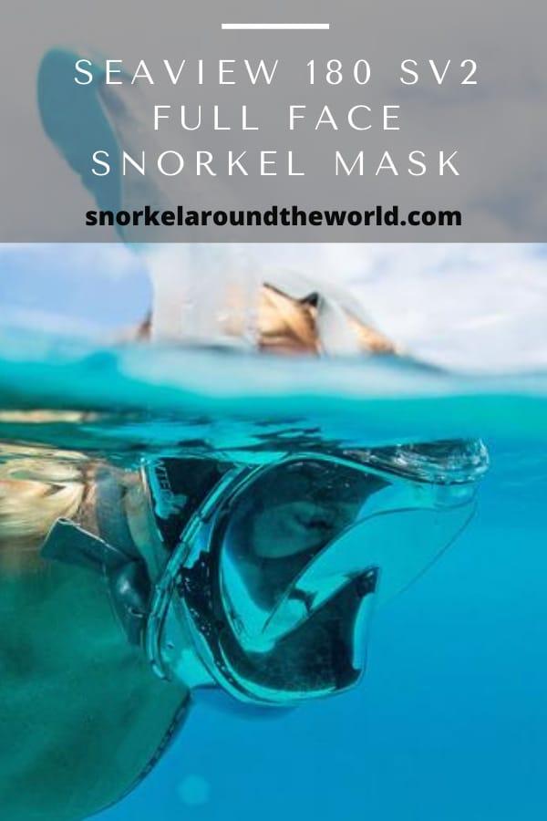 seaview sv2 180 full face snorkel mask