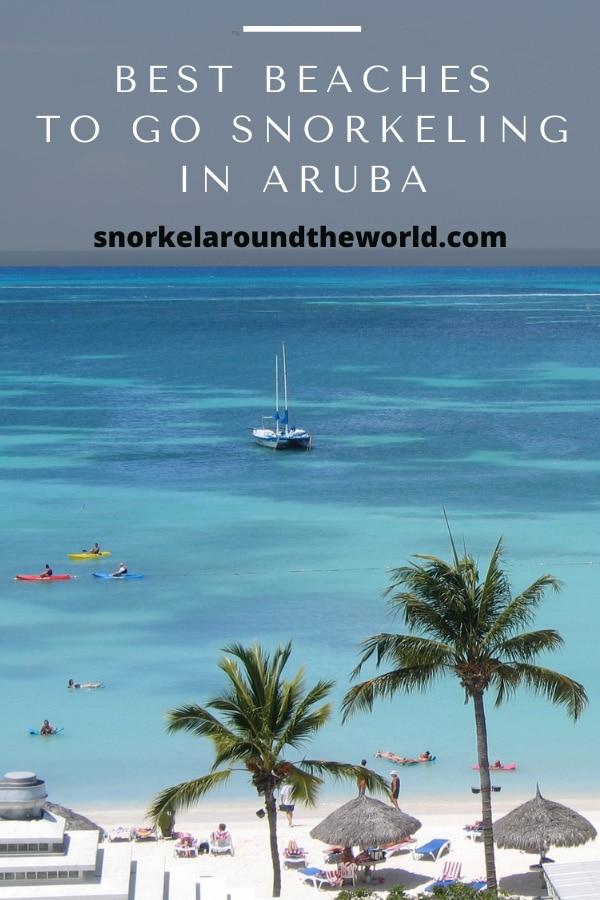 Aruba snorkeling beaches