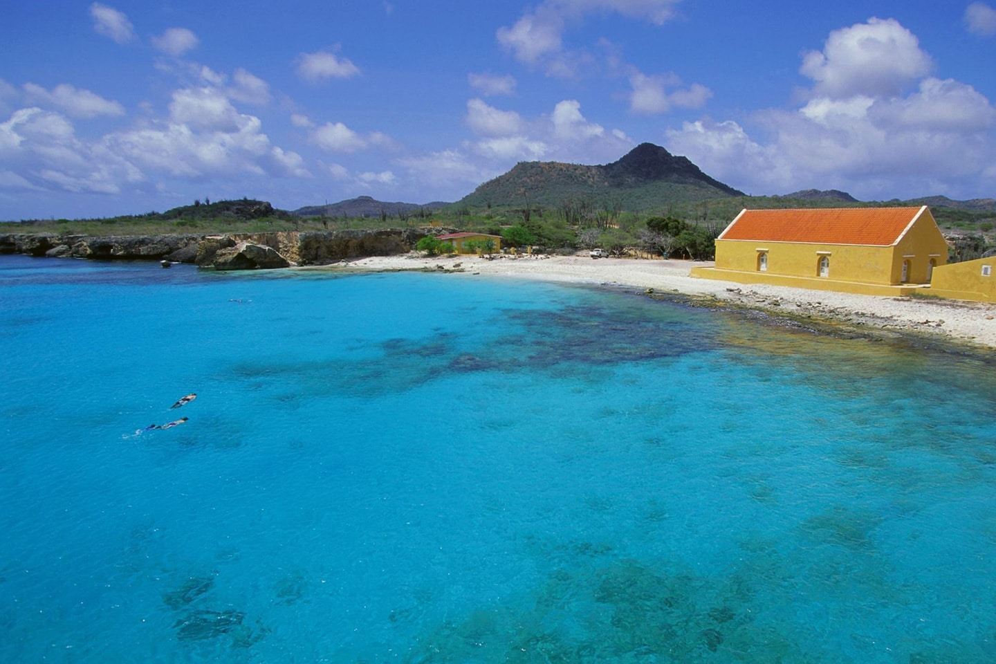 Sunny summer weather in Bonaire