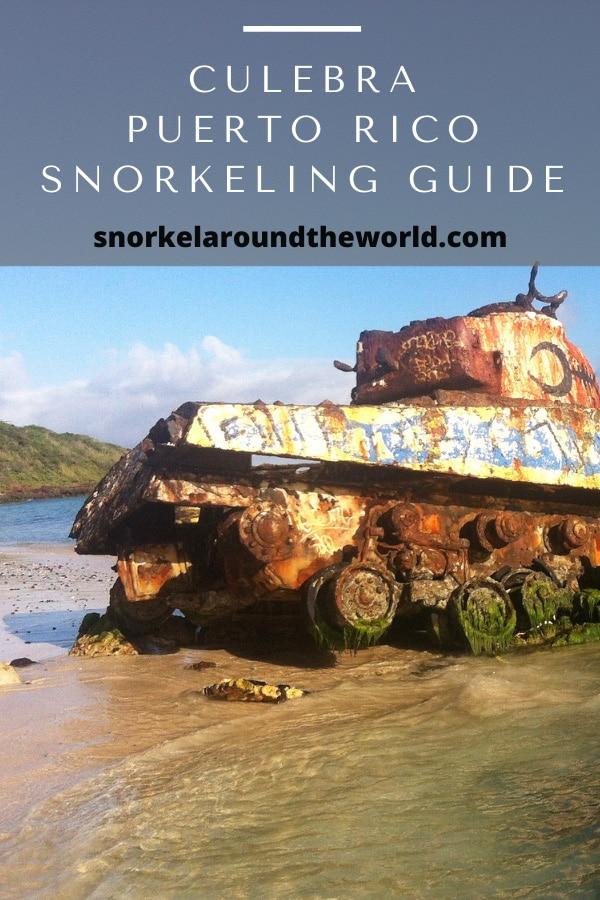 Culebra snorkeling guide Puerto Rico