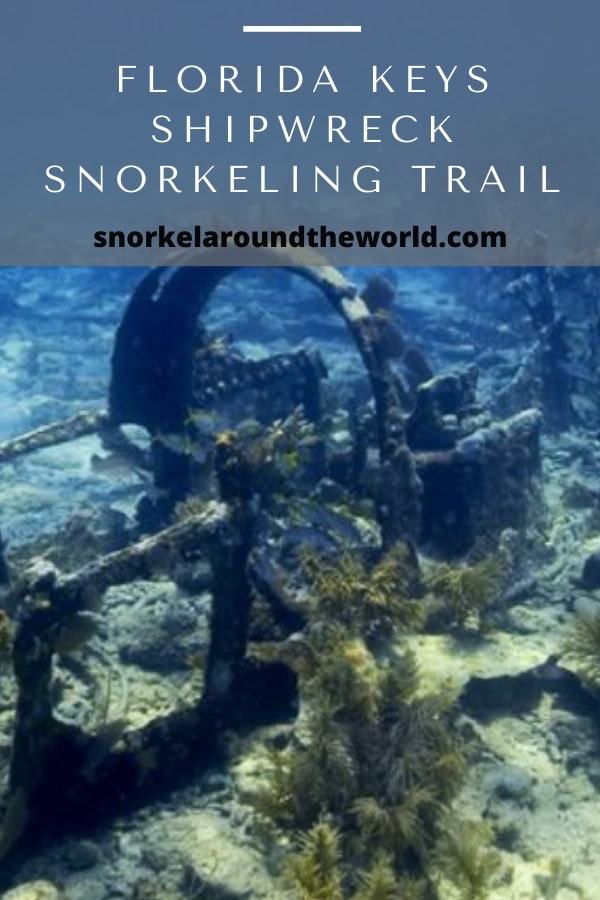 florida keys shipwreck snorkeling trail