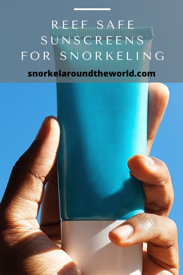 reef safe sunscreen list for snorkeling