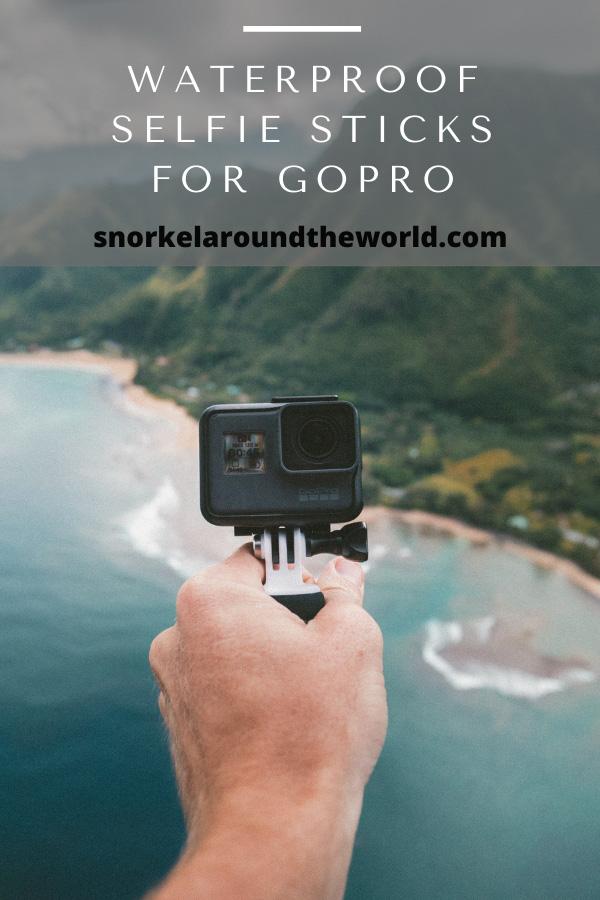 waterproof selfie stick for gopro
