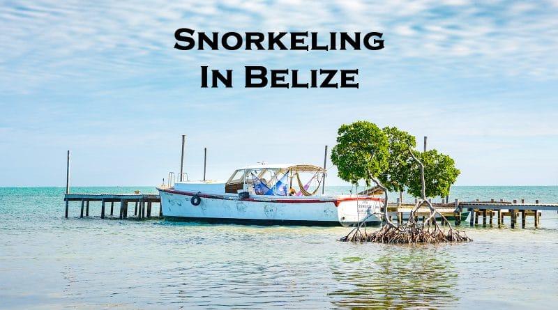 Snorkeling in Belize