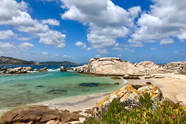 beach on La Maddalena Island