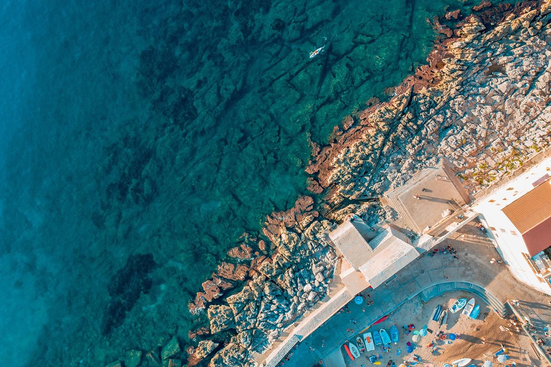 Mediterranean sea Cefalu - Sicily