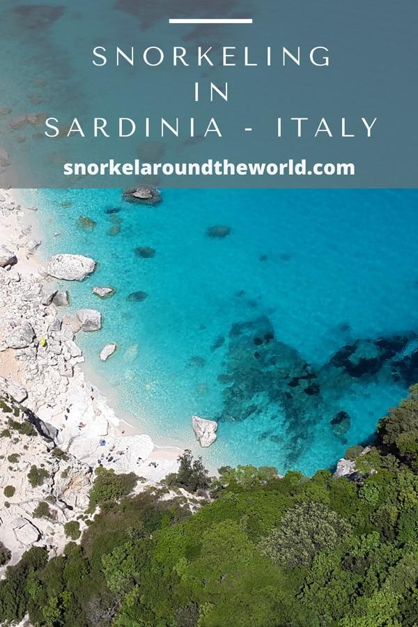 Sardinia snorkeling places