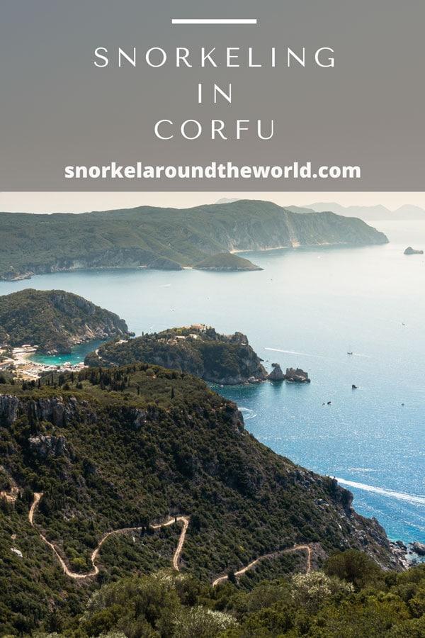 Corfu snorkeling guide