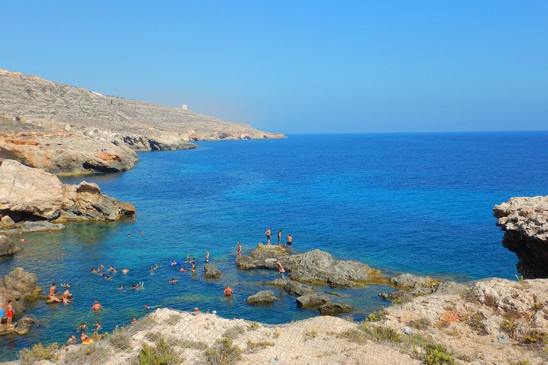Ghar Lapsi Bay Malta