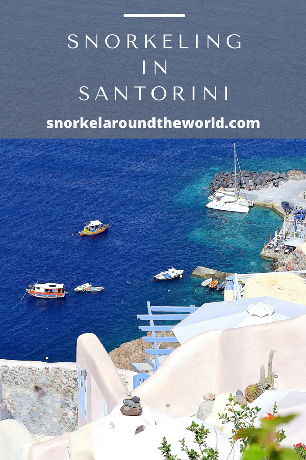 Santorini snorkeling beaches