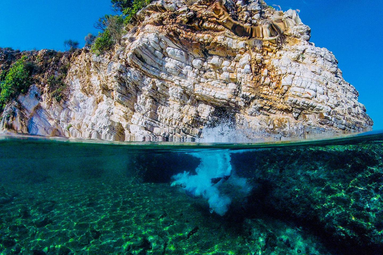 Saranda snorkeling in Albania