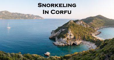 Snorkeling in Corfu