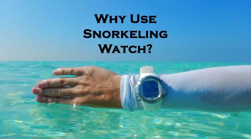Snorkeling watch