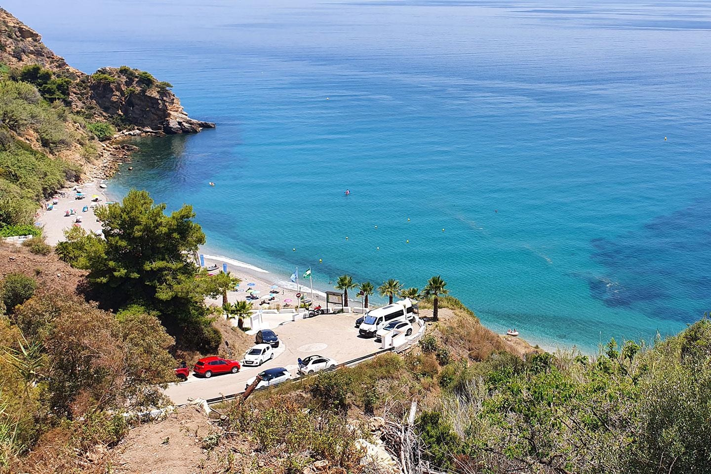 Maro beach Spain
