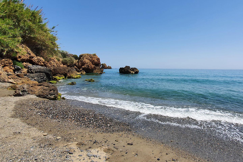 Playa de la Caleta snorkeling area - Nerja