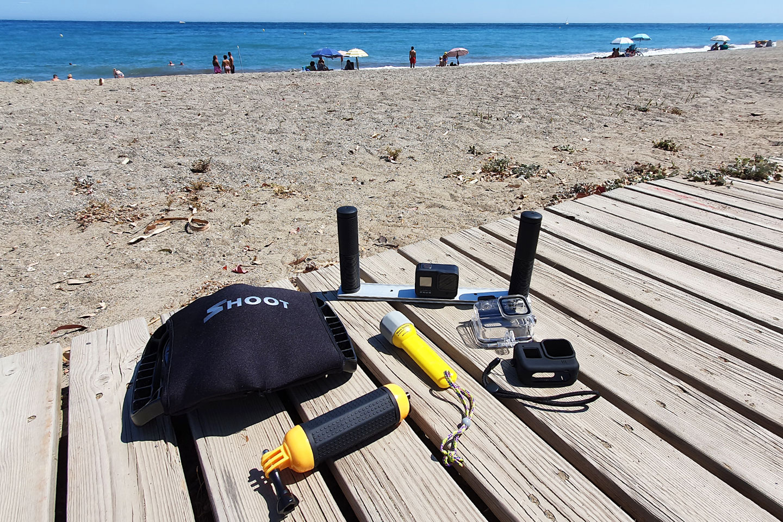 GoPro accessories to use underwater