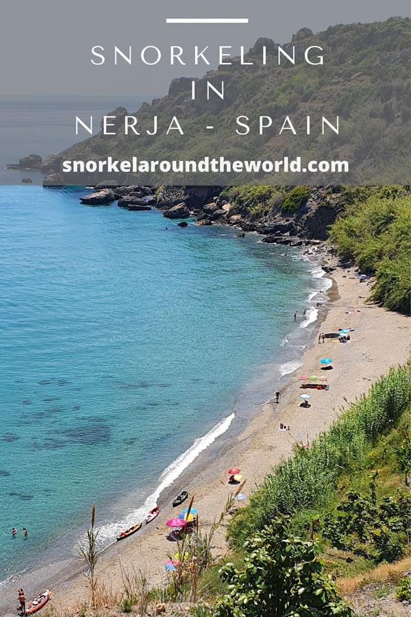 Nerja snorkeling beaches - Spain