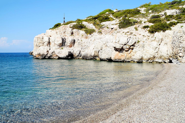 Rhodes - Kopria beach
